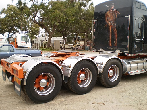 1980 Kenworth Prime mover tri axle